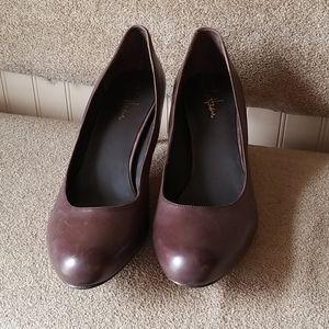 Cole Haan Nike Air pumps heels size 11B brown